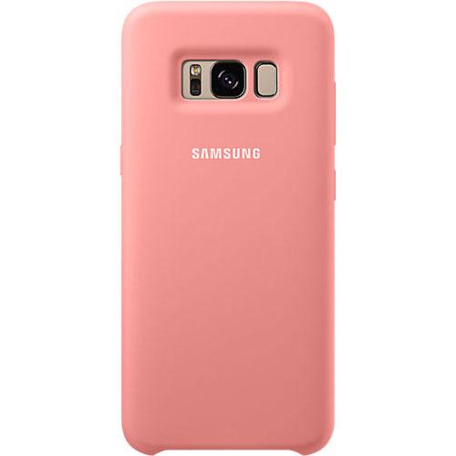 Накладка силиконовая на Samsung Cover Galaxy S8 (EF-PG950TPEGRU) Pink