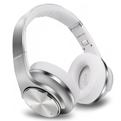 Bluetooth стереогарнитура/Колонки CROWN CMBH-9320 накладная Silver