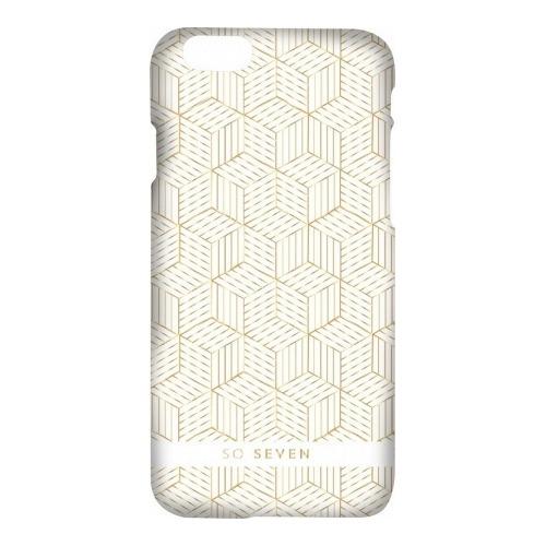 Накладка пластиковая So Seven iPhone 7 / iPhone 8 Midnight Cubic Blanc