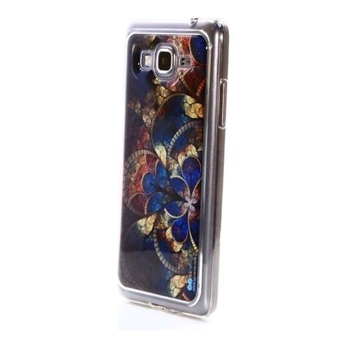 Накладка силиконовая IceTwice Samsung Galaxy Grand Prime Мозаика №637