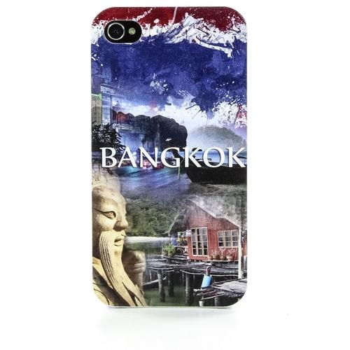 Накладка пластиковая QRCase iPhone 4/4S Бангкок N206W