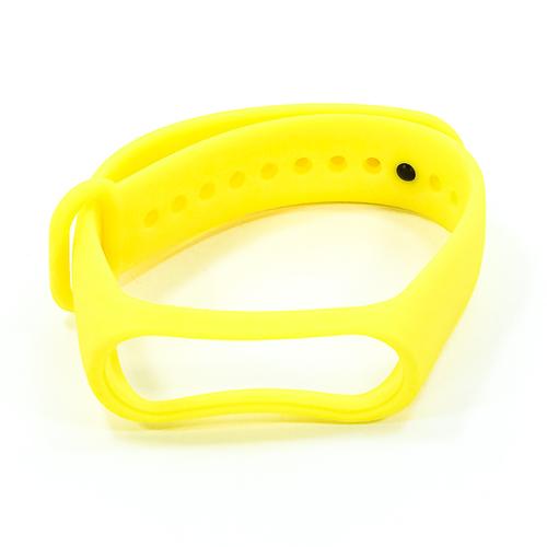 Ремешок Goodcom для фитнес-браслета Xiaomi Mi Band 3 Yellow