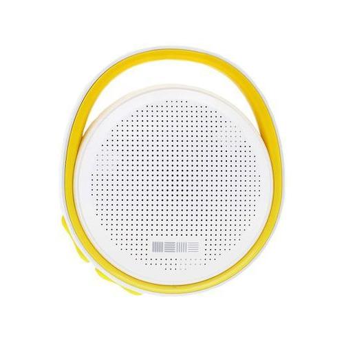 Колонка InterStep SBS-100 (Bluetooth,micro SD) White/Yellow