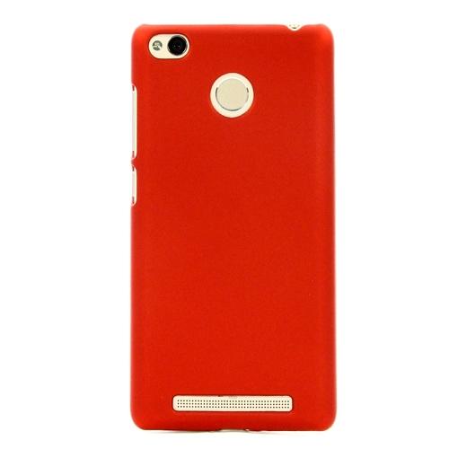 Накладка пластиковая skinBox Shield Xiaomi Redmi 3/3S/Pro Red