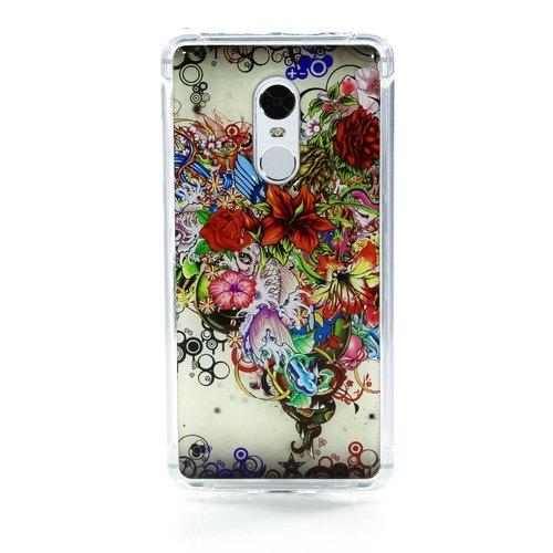 Накладка силиконовая IceTwice Xiaomi Redmi Note 4 Букет №540