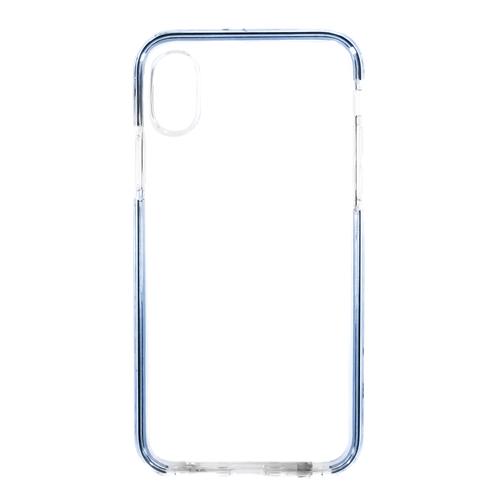 Накладка силиконовая Platina Frame Iphone X Blue