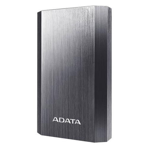 Внешний аккумулятор A-DATA 10050 mAh 2USB 2.1A Titanium