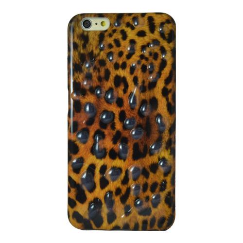 Накладка силиконовая iPhone 5/5S Leopard Water (DJ)