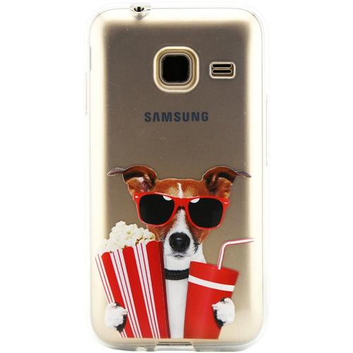 Накладка силиконовая Code Samsung J1 mini (2016) Dog&Movie