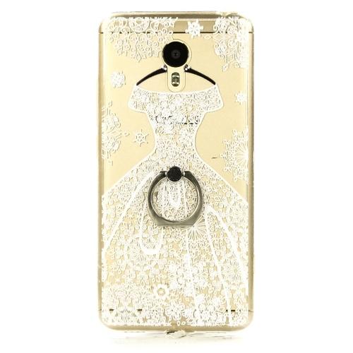 Накладка пластиковая Goodcase Meizu M3 Note свадебное платье белое