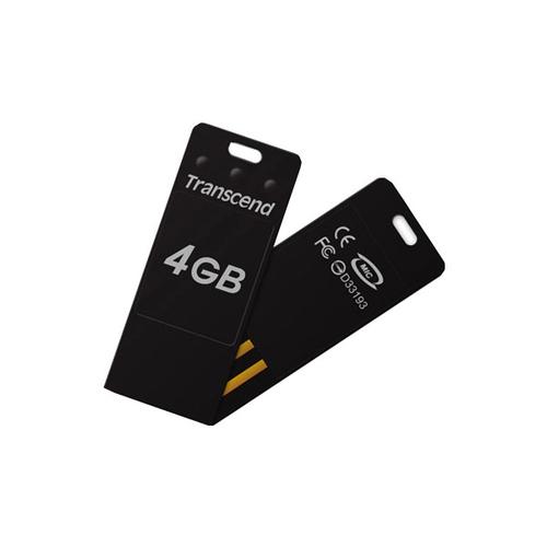 USB накопитель Transcend JetFlash T3 (4Gb) Black