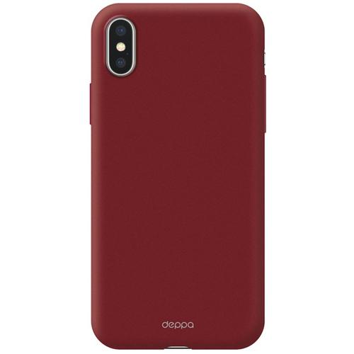 Накладка пластиковая Deppa Air Case Apple IPhone X Red