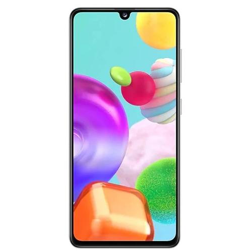 Телефон Samsung A415F/DS Galaxy A41 64Gb White фото