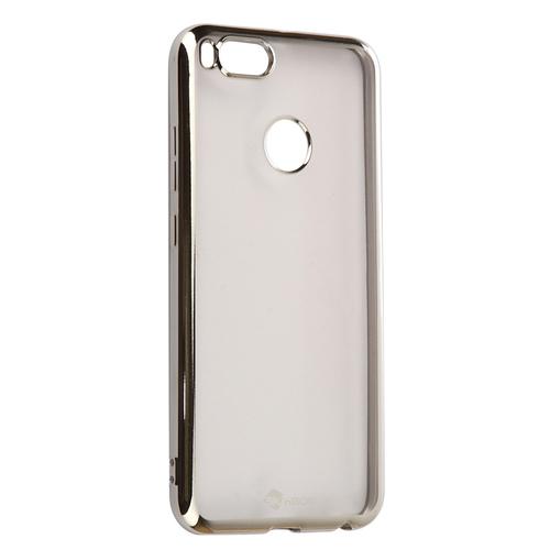 Накладка силиконовая skinBox chrome Xiaomi Mi5X/Mi A1 Silver