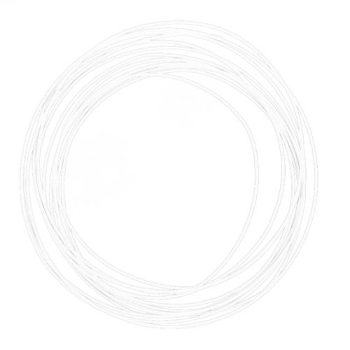 Белый пластик ABS для 3D-ручки 5 метров, Goodcom