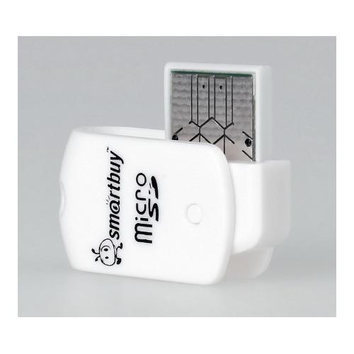 USB картридер Smartbuy SBR-706F USB 2.0 (micro SD)