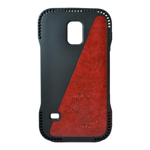 Накладка пластиковая Samsung G900 Galaxy S5 Сова Red